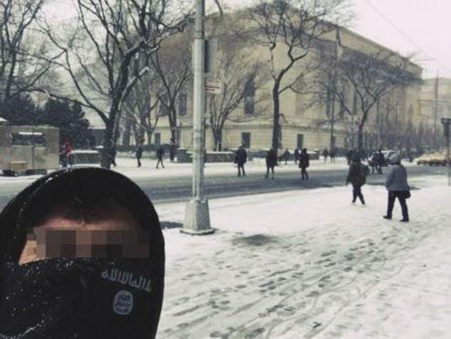 Selfie em frente ao Metropolitan Museum