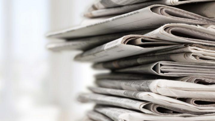A vida pautada pelos jornais