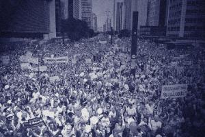 O eixo dos protestos