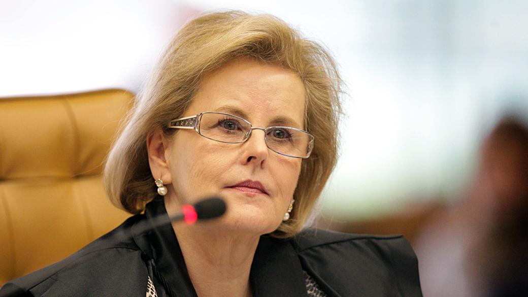 Ministra Rosa Weber no julgamento de a‹o contra Prouni. Foto: Carlos Humberto/SCO/STF (03/05/2012)