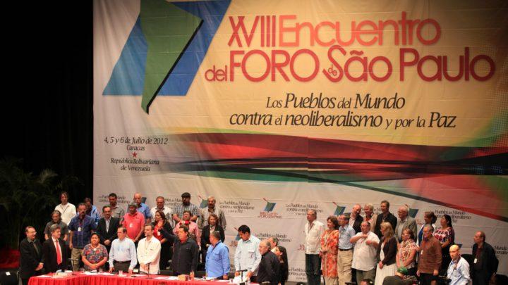 Foro de São Paulo: esquerda brasileira reforça apoio a ditadura venezuelana