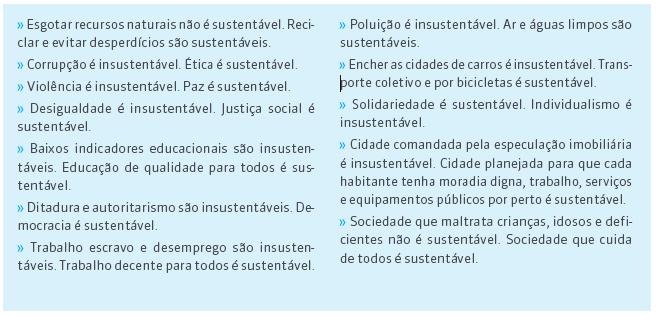 Ethos - o que e e o que nao e sustentabilidade instituto ethos