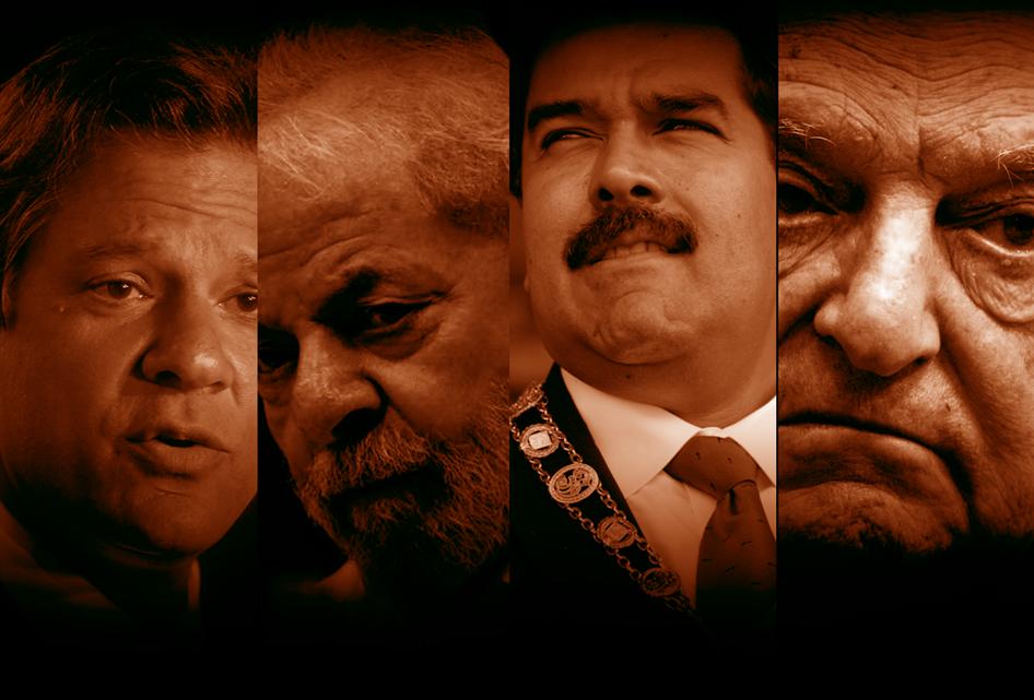 Haddad é Lula, mas também é Soros e Maduro