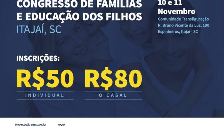 Congresso de educação e família traz nomes de peso a Santa Catarina