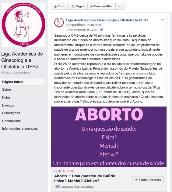 liga academica GO UFRJ