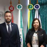 Embaixadora da Venezuela denuncia violações dos direitos humanos em visita ao Dep Filipe Barros (PSL-PR)