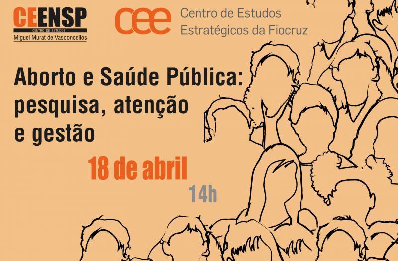 """Exemplo de ação da Fiocruz em prol do aborto e tratamento do tema como """"saúde pública"""""""
