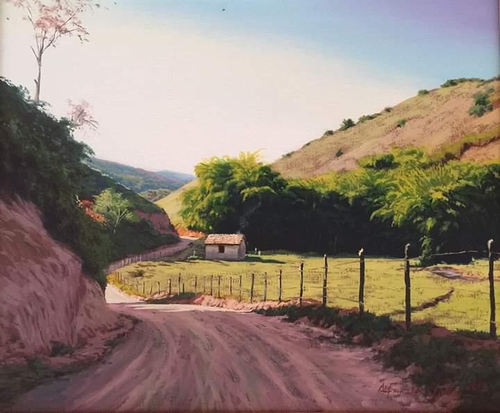 Obra de Alfredo Vieira, pintor brasileiro.